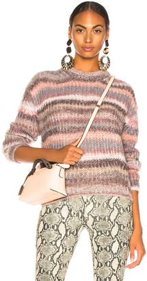 Acne Studios Striped Sweater in Grey Multi | FWRD