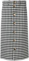 Balenciaga gingham skirt
