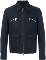 Neil Barrett lightweight jacket - men - Polyamide/Spandex/Elastane/Cupro/Wool - S
