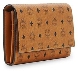 MCM Large Visetos Original Wallet