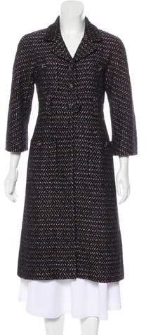 Chanel Long Tweed Coat