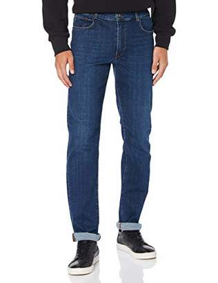 Trussardi Jeans Men's 380 Icon Denim Cairo Stre Straight Jeans