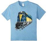 Kids ShirtWerks Boys or Girls Diesel Train with Tracks T-Shirt