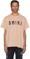 Amiri Pink Hippie T-Shirt