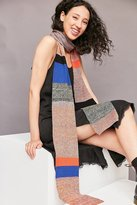 Urban Outfitters Space Dye Striped Skinny Scarf