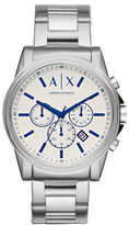 Armani Exchange Round Chronograph Bracelet Watch
