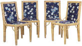 One Kings Lane Vintage Rattan Dining Chairs