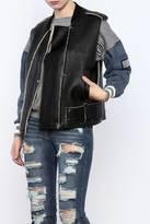 J.o.a. Faux Leather Vest