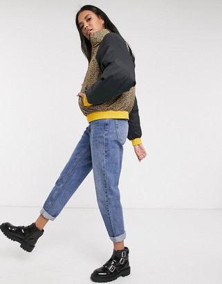 Levi's Lydia reversible puffer jacket in multi