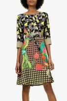 Desigual Mixed Print Dress