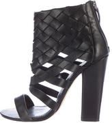Camilla Skovgaard Leather Cage Sandals