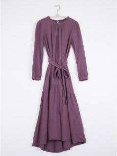 XiRENA The Luna Dress In Smoky Mauve - S