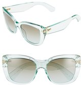 Kate Spade Women's 'Andris' 54Mm Sunglasses - Green