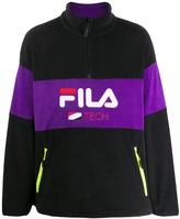 Fila Reijo half zip fleece jumper