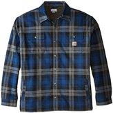 Carhartt Men's Big & Tall Hubbard Sherpa Lined Shirt Jacket