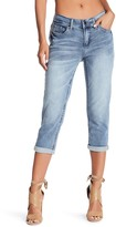 Seven7 Cropped Girlfriend Jeans
