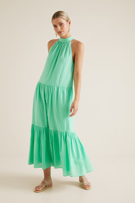 Seed Heritage Textured Maxi Dress