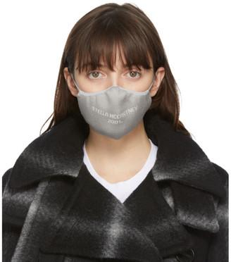 Stella McCartney Grey Logo Face Mask