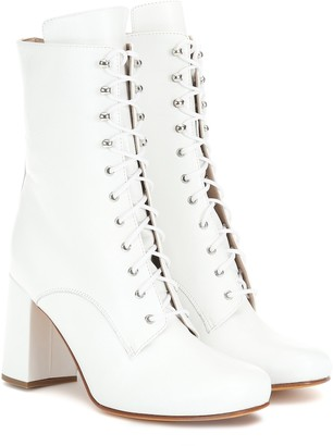 Maryam Nassir Zadeh Emmanuelle leather ankle boots