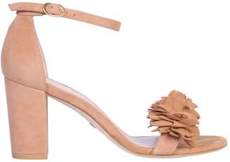 Stuart Weitzman Nearly Flower Sandal