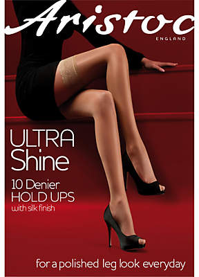 0ca3a9e79 Aristoc Ultra Shine 10 Denier Hold Ups