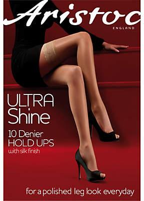 4328f81b2be Aristoc Ultra Shine 10 Denier Hold Ups
