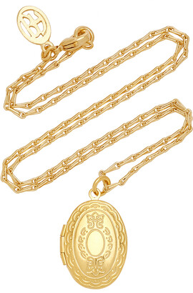 Ben-Amun Women's Gold-Plated Locket Necklace - Gold - Moda Operandi
