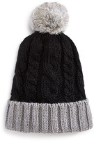 Surell Girls' Cable Knit Slouch Hat