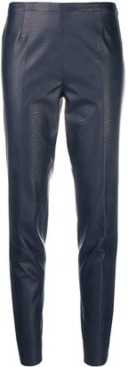 Stefano Mortari Faux Leather Trousers