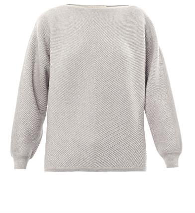 Vanessa Bruno Batwing-sleeve wool sweater