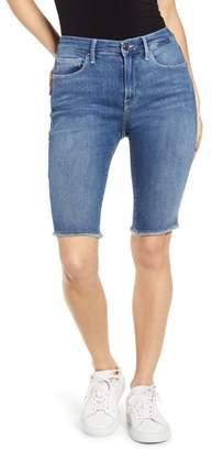 Good American High Waist Bermuda Shorts (Regular & Plus Size)