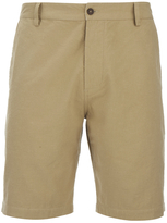 Universal Works Slub Japanese Cotton Deck Shorts Camel