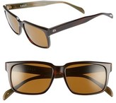 Salt Men's 'Wooderson' 55Mm Polarized Sunglasses - Brown Green/ Brown