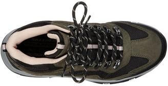 Skechers Trego Walking Lace Up Ankle Boot - Olive/Black