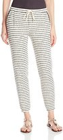 Splendid Women's West Shore Stripe Active Soft Sweatpants