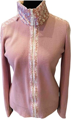 Christian Dior Pink Wool Knitwear for Women Vintage