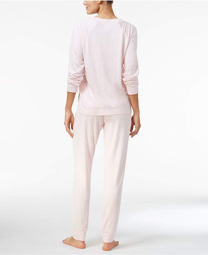 Alfani Lace Jacquard-Front Pajama Top, Created for Macy's