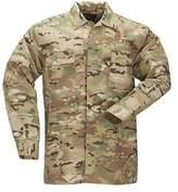 5.11 Tactical Men's MultiCam TDU Long Sleeve Shirt - Multicam BDUs
