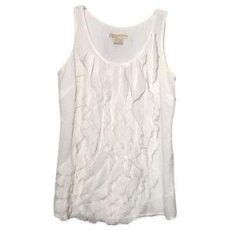Michael Kors Ecru Silk Top for Women