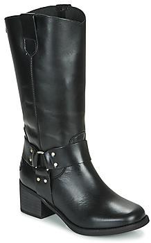 Musse & Cloud Musse Cloud AUSTIN women's High Boots in Black