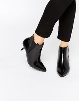 Park Lane Point Mid Heeled Ankle Boots