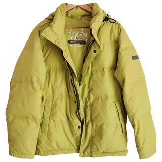 Champion Green Polyester Coats