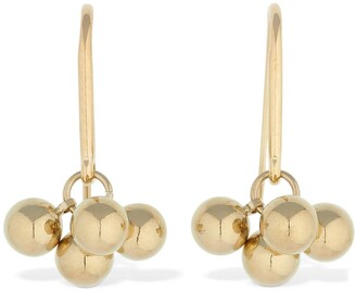 Isabel Marant Oh Beaded Hoop Earrings