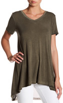 Cable & Gauge Enzyme Wash Mesh Back Tee