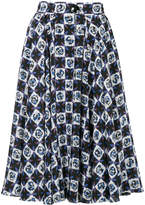 Emilio Pucci all-over print skirt