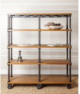 Abbyson LIVING Northwood Industrial Etagere Bookcase