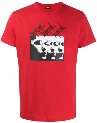 Diesel T-Diego-J12 relaxed-fit T-shirt