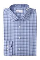 Nordstrom Rack Plaid Trim Fit Dress Shirt