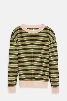 Bellerose Senia T Shirt In Stripe F - XXS