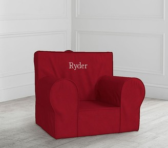 Pottery Barn Kids Red Anywhere Chair